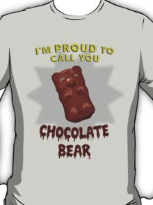 Scrubs - Chocolate Bear T-Shirt