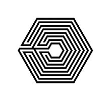EXO - Overdose (Black) Photographic Print