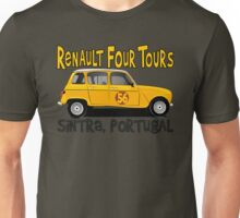 Renault 4 Tours in Sintra, Portugal Unisex T-Shirt