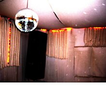 retro disco booth by GarlandWarmade