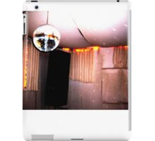retro disco booth iPad Case/Skin