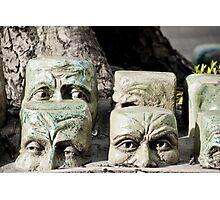 Sunken Heads Photographic Print