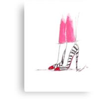 Super Hot Pink Pants Canvas Print