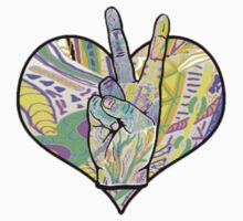 Peace and Love by monica-d