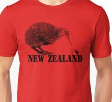 new zealand, kiwi bird Unisex T-Shirt