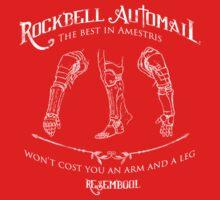 Rockbell Automail by weinerdawg