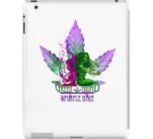 The Green Thumb & Purple Haze iPad Case/Skin