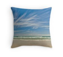 Archway Islands - New Zealand Throw Pillow