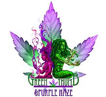 The Green Thumb & Purple Haze by LeVar Carter