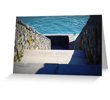 Forty Steps Newport Greeting Card