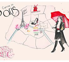 Carrie in Paris by FallintoLondon
