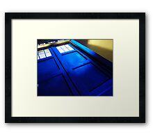 doctor who tardis case Framed Print