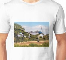 "P-51D Mustang 44-72035 G-SIJJ ""Jumpin'-Jacques"" Unisex T-Shirt"