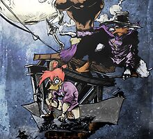 Darkwing Duck by JBWilliamsart