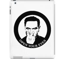 Open Your Eyes iPad Case/Skin