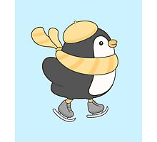 minu, the penguin Photographic Print