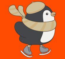minu, the penguin Kids Tee