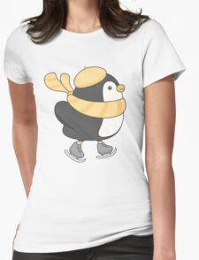 minu, the penguin Womens Fitted T-Shirt