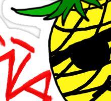 Piña King Sticker