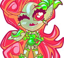 Chibi Poison Ivy by Penelope Barbalios