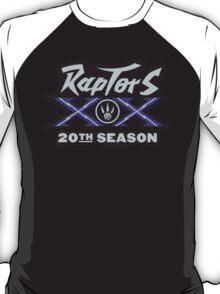 Toronto Raptors 20 year Anniversary T-Shirt