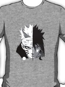 Naruto - Sasuke Cross Faces T-Shirt