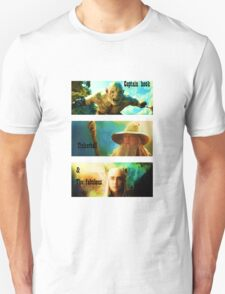 azog, gandalf and thranduil T-Shirt