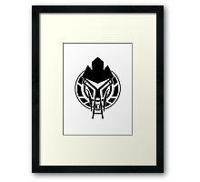 Cylon Logo Framed Print
