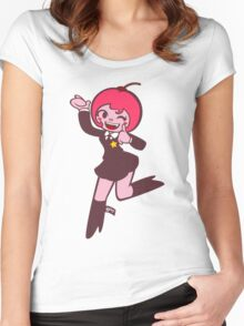 Köpke Chara Collection - Cherry Women's Fitted Scoop T-Shirt
