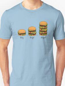 Burger explained: Burg. Burger. Burgest Unisex T-Shirt