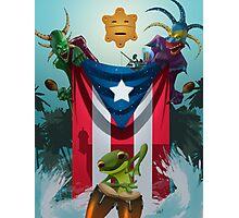 La Bandera Photographic Print