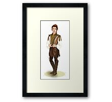 Elf Chanyeol Framed Print