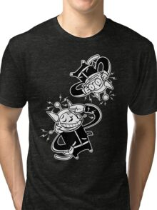 Köpke Chara Collection - Spacecats Tri-blend T-Shirt