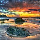 Firesky Beach 2 by Cheryl Styles