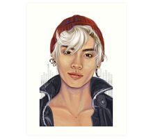 Jjong w/ Beanie  Art Print