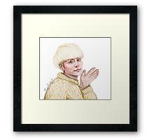 Sweater Jjong Framed Print