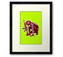 Punk!Winter Soldier Framed Print