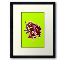 Punk!Winter Soldier Framed Print