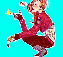 Punk!Black Widow by Cara McGee
