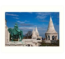 St. Stephen & Fisherman's Bastion Art Print