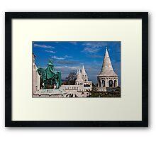 St. Stephen & Fisherman's Bastion Framed Print