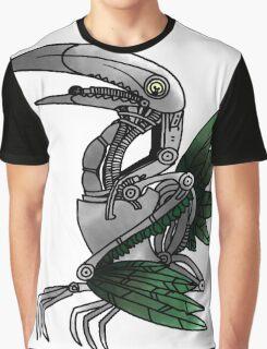Robotic Toucan Graphic T-Shirt