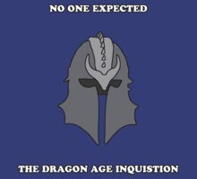 No One Expected the Dragon Age Inquisition by xSammyx