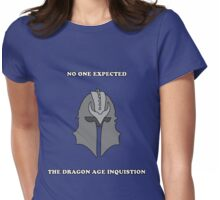 No One Expected the Dragon Age Inquisition Womens Fitted T-Shirt