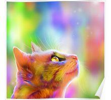 Elysian Feline Poster