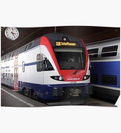 Swiss train Poster