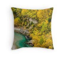 Skipper's Canyon - New Zealand Throw Pillow