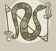 Pictish Snake by Jill Johansen