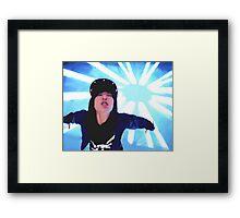 B.A.P Zelo Framed Print
