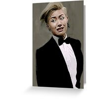 U Kwon Block B Greeting Card